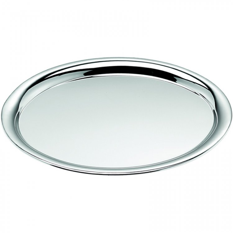 Tray oval chromed - Click Image to Close